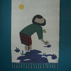 WOVEN COTTON WALL HANGING