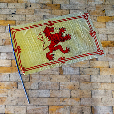 Scottish Lion Rampant Flag