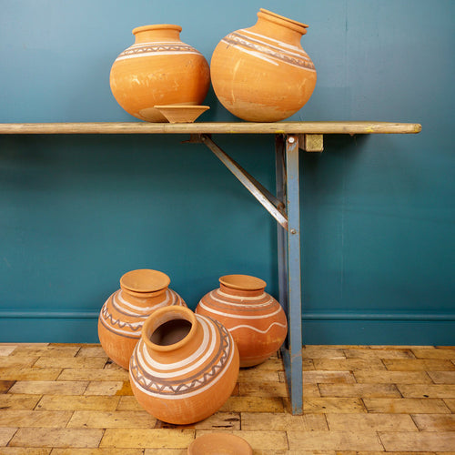 Indian Decorative Terracotta Pots