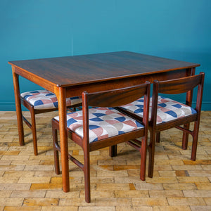 McIntosh Rosewood Table & Chairs