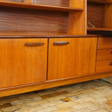 Load image into Gallery viewer, Mid Century Teak Highboard