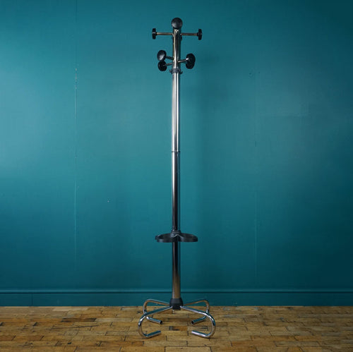 Bauhaus Style Chrome Coat Stand
