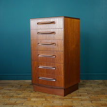 Load image into Gallery viewer, G Plan Tall Boy Chest of 6 Drawers