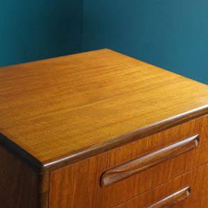 G Plan Tall Boy Chest of 6 Drawers