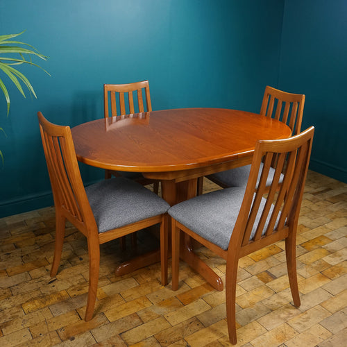 G Plan Fresco Table & Four Chairs