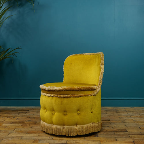 Mustard Bedroom Chair