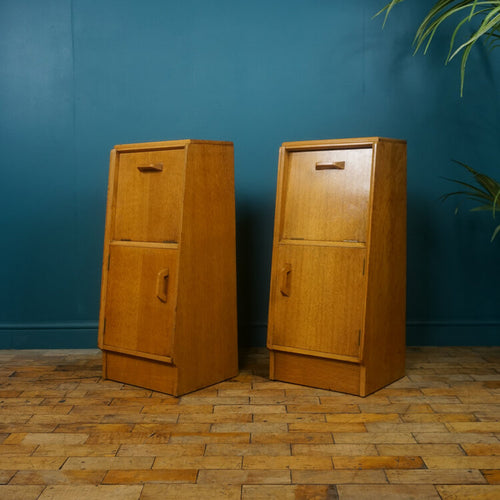 Pair of Oak Bedside Cabinets by G Plan c.1950