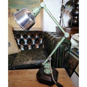 BAUHAUS Curt Fischer 1950s East German Task Lamp By Midgard