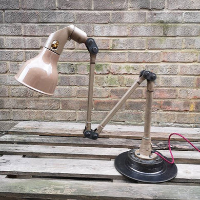 1930s Industrial Task Lamp By Mek Elek London