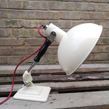 Load image into Gallery viewer, Vintage 1950s Cream Pifco Medical Desk Lamp #4