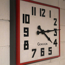 Load image into Gallery viewer, 1950s British Made Large Gensign Shop Front Clocks