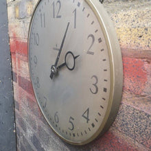 Load image into Gallery viewer, 1960s German Factory Clock By Siemens