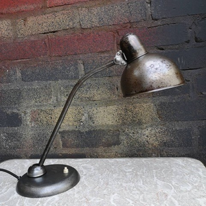 1930s Bauhaus Table Lamp Early Kaiser Idell 6551 By Christian Dell