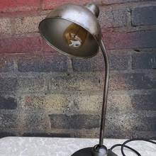 Load image into Gallery viewer, 1930s Bauhaus Table Lamp Early Kaiser Idell 6551 By Christian Dell