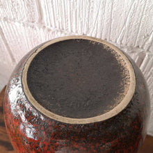Load image into Gallery viewer, Vintage 1960s West German Pottery Scheurich Keramik Large Vase 284/53 FAT LAVA