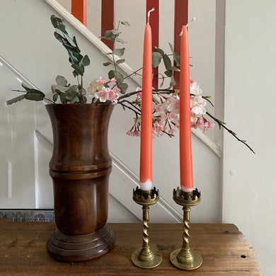 Small Vintage Brass Candlesticks #2