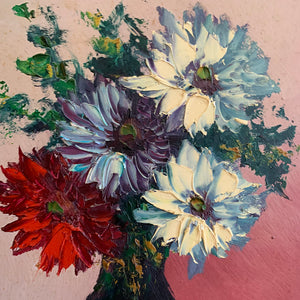 Small Floral Still-Life Oil Painting