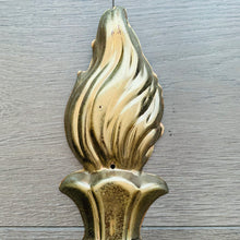 Load image into Gallery viewer, Gold Torch Flame Decorative Ornament