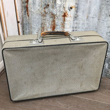 Load image into Gallery viewer, Vintage Cream & Black Suitcase