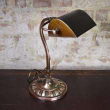 Load image into Gallery viewer, Antique 1920s Bankers Desk Lamp