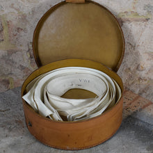 Load image into Gallery viewer, Antique Detachable Shirt Collars in Leather Travel Case
