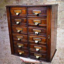Load image into Gallery viewer, Antique Oak Shannon Limited Office Filing Cabinet Home Office Storage