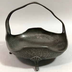 Art Deco Pewter Fruit Bowl