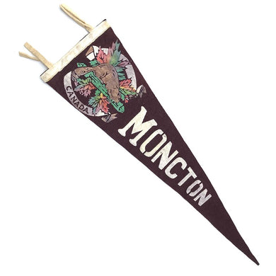 Vintage Pennant - Moncton Canada