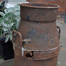 Load image into Gallery viewer, Rusty Vintage Milk Churn - Cadbury Bros