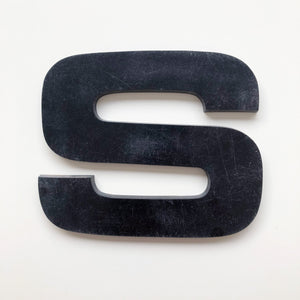S - Large Letter Solid Perspex