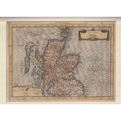 Antique Map - Scotiae Regnum, Gerard Mercator 1632