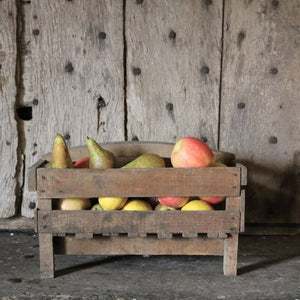 French Vintage Rustic Trugs - Square