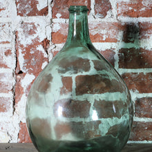 Load image into Gallery viewer, Vintage Green Glass Carboy