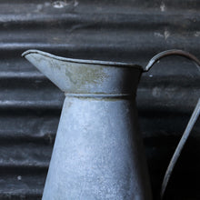 Load image into Gallery viewer, Extra Extra Large French Vintage Galvanised Jug