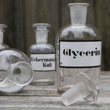 Load image into Gallery viewer, Apothecary Lab Pharmacy Bottles Vintage - Set of Five