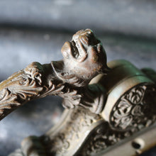 Load image into Gallery viewer, Antique French Lion Window Latch Handle
