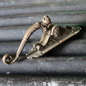 Antique French Lion Window Latch Handle