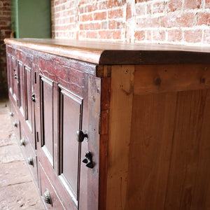 Antique Pine Shop Counter