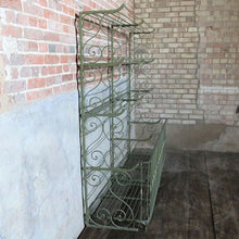 Load image into Gallery viewer, Antique French Boulangerie Bakery Display Rack