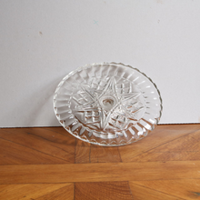 Load image into Gallery viewer, Vintage Pressed Glass Cake Stand - Medium A