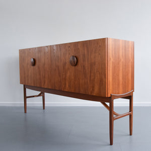 Vintage Tall Sideboard by Ib Kofod Larsen for E Gomme G Plan Model 4060