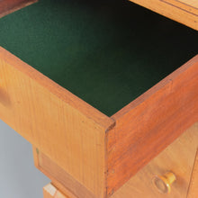 Load image into Gallery viewer, Rare Vintage Birch Veneered 1930s Art Deco Sideboard / Credenza by P.E. Gane LTD of Bristol