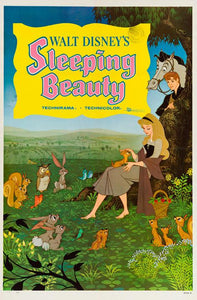 Sleeping Beauty original film movie poster