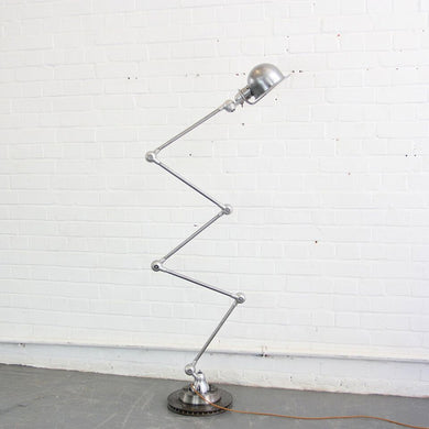 1950s Floor Standing Industrial Lamp By Jean Louis Domecq