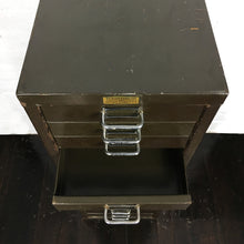 Load image into Gallery viewer, Vintage Green metal Filing Cabinet