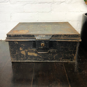 Vintage World War II Military Storage Box