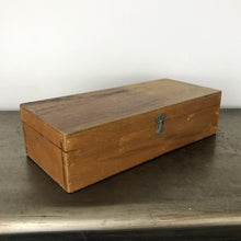Load image into Gallery viewer, Vintage Wooden Compartment Box