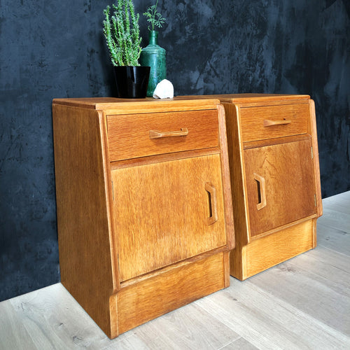 Pair of Mid-Century G-Plan Bedside Tables