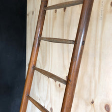 Load image into Gallery viewer, Vintage 13 Rung Beech Ladder