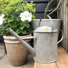 Load image into Gallery viewer, Vintage Galvanised Watering Can